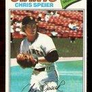 SAN FRANCISCO GIANTS CHRIS SPEIER 1977 TOPPS # 515