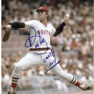 BOSTON RED SOX BILL LEE AUTOGRAPHED 8x10 PHOTO WITH COA