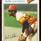 HOUSTON ASTROS BOB WATSON 1977 TOPPS # 540 VG