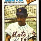 NEW YORK METS PEPE MANGUAL 1977 TOPPS # 552 VG
