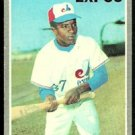 MONTREAL EXPOS ANGEL HERMOSO 1970 TOPPS # 147 VG