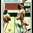HOUSTON ASTROS ENOS CABELL 1977 TOPPS # 567 VG