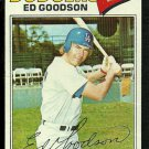 LOS ANGELES DODGERS ED GOODSON 1977 TOPPS # 584 VG