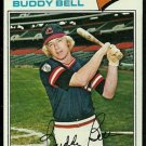 CLEVELAND INDIANS BUDDY BELL 1977 TOPPS # 590 VG