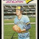 MILWAUKEE BREWERS JIM SLATON 1977 TOPPS # 604 VG