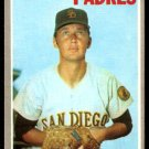SAN DIEGO PADRES TOMMIE SISK 1970 TOPPS # 374 EX/EM