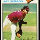 CLEVELAND INDIANS PAT DOBSON 1977 TOPPS # 618 VG