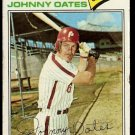 PHILADELPHIA PHILLIES JOHNNY OATES 1977 TOPPS # 619 good