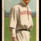 1911 T-206 BOSTON RED SOX HARRY NILES SWEET CAPORAL BACK good