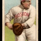 1911 T-206 BOSTON RED SOX TUBBY SPENCER SWEET CAPORAL BACK G/VG