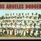 LOS ANGELES DODGERS TEAM CARD 1970 TOPPS # 411 good