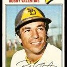 SAN DIEGO PADRES BOBBY VALENTINE 1977 TOPPS # 629 VG