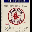 NEW YORK YANKEES BOSTON RED SOX 1985 FENWAY PARK TICKET STUB GUIDRY MATTINGLY 3 HITS BOGGS CLEMENS