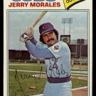 CHICAGO CUBS JERRY MORALES 1977 TOPPS # 639