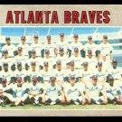 ATLANTA BRAVES TEAM CARD 1970 TOPPS # 472 good