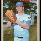 LOS ANGELES DODGERS BILL SINGER 1970 TOPPS # 490