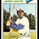 MONTREAL EXPOS JERRY WHITE 1977 TOPPS # 557 VG+/EX