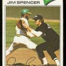 CHICAGO WHITE SOX JIM SPENCER 1977 TOPPS # 648 VG