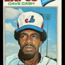 MONTREAL EXPOS DAVE CASH 1977 TOPPS # 649 EX