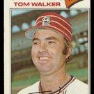 ST LOUIS CARDINALS TOM WALKER 1977 TOPPS # 652 EX/EM