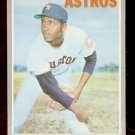 HOUSTON ASTROS DON WILSON 1970 TOPPS # 515 NR MT