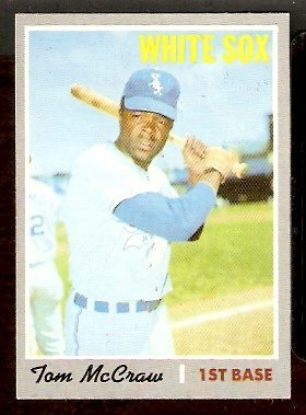 CHICAGO WHITE SOX TOM McCRAW 1970 TOPPS # 561 EM+