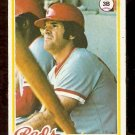 CINCINNATI REDS PETE ROSE 1978 TOPPS # 20 VG
