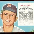 BOSTON RED SOX MEL PARNELL 1953 RED MAN # 25 no tab