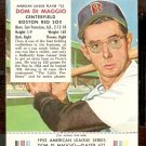 BOSTON RED SOX DOM DiMAGGIO 1953 RED MAN # 22 NR MT WITH TAB