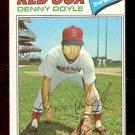 BOSTON RED SOX DENNY DOYLE 1977 TOPPS # 336 NR MT OC