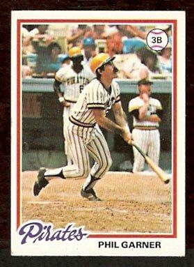 PITTSBURGH PIRATES PHIL GARNER 1978 TOPPS # 53 VG