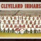 CLEVELAND INDIANS TEAM CARD 1970 TOPPS # 637 EX+/EM