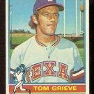 TEXAS RANGERS TOM GRIEVE 1976 TOPPS # 106 EX