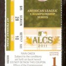 BOSTON RED SOX FENWAY PARK 2011 CHAMPIONSHIP SERIES ALCS FULL TICKET