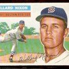 BOSTON RED SOX WILLARD NIXON 1956 TOPPS # 122 EX MT