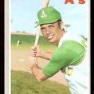 OAKLAND ATHLETICS BOB JOHNSON 1970 TOPPS # 693 NM SOC
