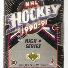 1990 UPPER DECK HI NUMBER SERIES FACTORY SET UNOPENED BURE POTVIN FEDOROV ROOKIES +