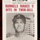 BOSTON RED SOX PETE RUNNELS 1961 BASEBALL SCOOPS # 407 NR MT