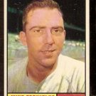 BOSTON RED SOX MIKE FORNIELES 1961 TOPPS # 113 VG/EX