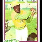 OAKLAND ATHLETICS MATT ALEXANDER 1978 TOPPS # 102
