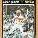 PHILADELPHIA PHILLIES OSCAR GAMBLE 1971 TOPPS # 23