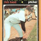 CLEVELAND INDIANS RICH HAND 1971 TOPPS # 24 good