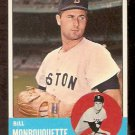 BOSTON RED SOX BILL MONBOUQUETTE 1963 TOPPS # 480 EX MT