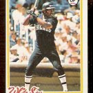 CHICAGO WHITE SOX CHET LEMON 1978 TOPPS # 127 EX