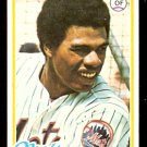 NEW YORK METS STEVE HENDERSON 1978 TOPPS # 134 EX+