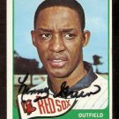 BOSTON RED SOX LENNY GREEN AUTOGRAPHED 1965 TOPPS # 588
