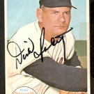 BOSTON RED SOX DICK RADATZ (deceased) AUTOGRAPHED 1964 TOPPS GIANT # 40