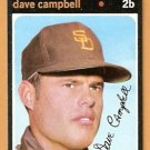SAN DIEGO PADRES DAVE CAMPBELL 1971 TOPPS # 46 EX