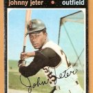 PITTSBURGH PIRATES JOHNNY JETER 1971 TOPPS # 47 good