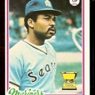 SEATTLE MARINERS RUPPERT JONES 1978 TOPPS # 141 NR MT